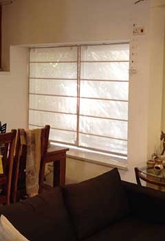 Roman Shades For Home In Strawbery